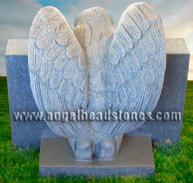 TF-A136 Weeping Angel Slant Style Monument Back