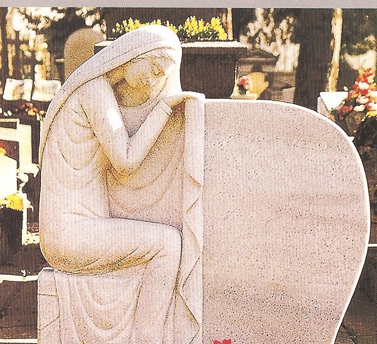 The Solitary Angel Is Simple But Beautiful And Is Available In A Variety Of  Colors And Sizes. For More Information About This Striking Memorial Contact  Us.